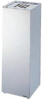 ミヅシマ工業 灰皿 363-0220 クリンスモーキング K3【※受注生産/納期目安10日/代金引換便はご利用になれません】 7159999