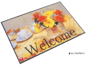 ミヅシマ工業 布(屋内用) 504-0090 PRマット フリーサイズ 【1平米単位】【納期目安3週間(版下決定後)/※代金引換便はご利用になれません】