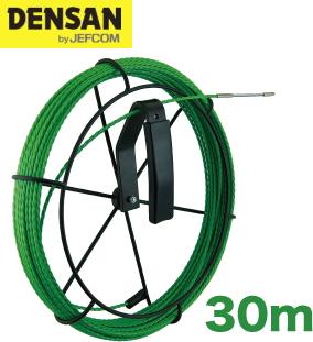 DENSAN(デンサン/ジェフコム) 呼線リール付セット GX-3530J-RL 【リール+グリーンスリムライン30m】