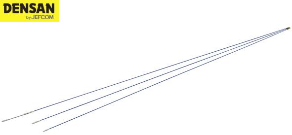 DENSAN(デンサン/ジェフコム) カーボンスリムジョイント呼線(被覆付) JCX-1503C [φ2×1.5m×3本]