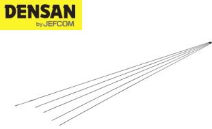 DENSAN(デンサン/ジェフコム) カーボンスリムジョイント呼線 JCX-1505 [φ2×1.5m×5本]