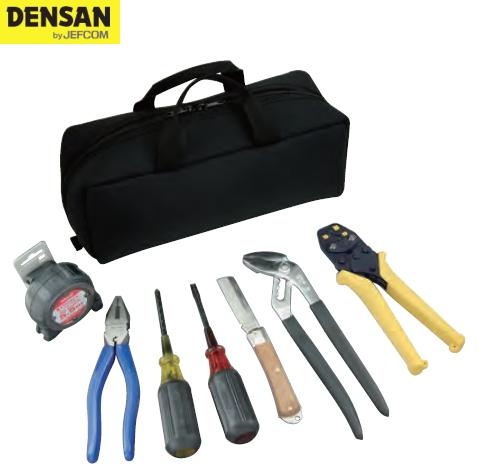 DENSAN(デンサン/ジェフコム) 電気工事士技能試験セット D-KIT-F