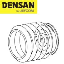 DENSAN(デンサン/ジェフコム) ダストカバー(単品) DDH-7512 [適合コアサイズφ75~125mm]