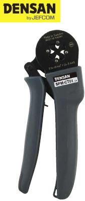 DENSAN(デンサン/ジェフコム) フェレール端子用 小型圧着工具 SPM-CT01