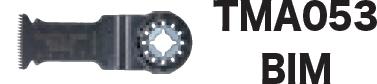 買い物 マキタ正規販売店 セール 登場から人気沸騰 マキタ電動工具 マルチツール用カットソーTMA053BIM 刃長50mm 刃幅32mm A-63856