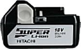 HiKOKI/ハイコーキ(日立電動工具) 18V 3.0Ah リチウムイオンバッテリー BSL1830 0033-0041