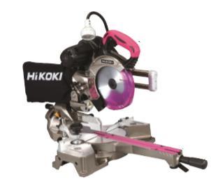 HiKOKI/ハイコーキ(日立電動工具) 165mm深切り卓上スライド丸のこ【レーザーマーカー付】 C6RSHC(スーパーチップソー付)