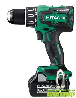 HiKOKI/ハイコーキ(日立電動工具) 18V充電式振動ドライバードリル DV18DBSL(2LYPK)【6.0Ah電池×2個付】