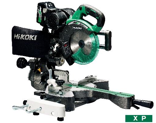 HiKOKI/ハイコーキ(日立電動工具) 【36V/マルチボルト】 コードレス卓上スライド丸のこ 190mm C3607DRA(XP)