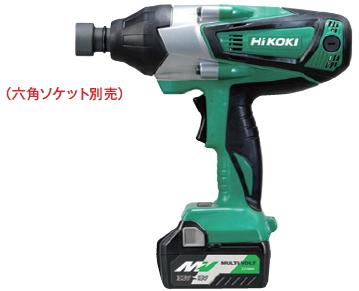 HiKOKI/ハイコーキ(日立電動工具) 18V [5.0Ah] コードレスインパクトレンチ WR18DSHL(2LXPK)