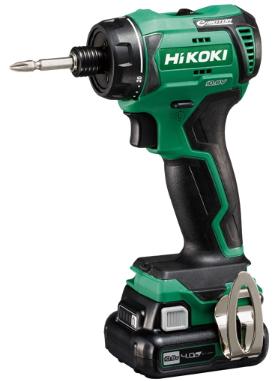 HiKOKI/ハイコーキ(日立電動工具) 10.8V [4.0Ah] コードレスドライバドリル DB12DD(2LS)
