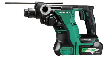 HiKOKI/ハイコーキ(日立電動工具) 18V [5.0Ah] コードレスロータリーハンマードリル DH18DBL(2LXPK) 【SDSプラス】