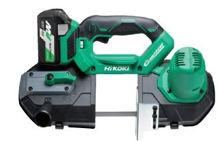 HiKOKI/ハイコーキ(日立電動工具) 18V [5.0Ah] コードレスロータリバンドソー CB18DBL(S)(LXPK)