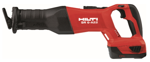 HILTI(ヒルティ) 21.6V 充電式レシプロソー SR 6-A22 P2/5.2Ah コンボ【充電器・5.2Ahバッテリー×2個】