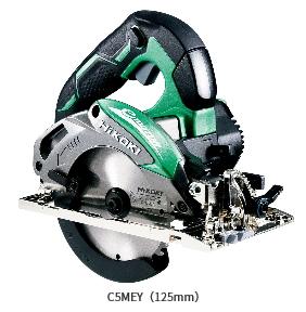 HiKOKI/ハイコーキ(日立電動工具) 125mm 深切り電子丸のこ C5MEY [アルミベース・チップソー付]