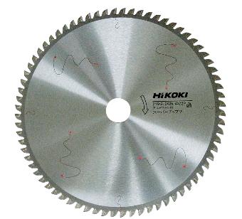 今季も再入荷 アルミサッシの切断に最適 HiKOKI ハイコーキ 日立電動工具 スーパーチップソー No.0032-6744 アルミサッシ用 即出荷 260mm×80P
