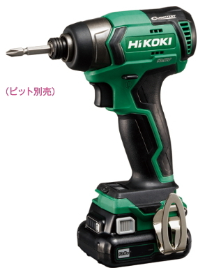 HiKOKI/ハイコーキ(日立電動工具) 10.8V [1.5Ah] コードレスインパクトドライバ WH12DD(2ES)
