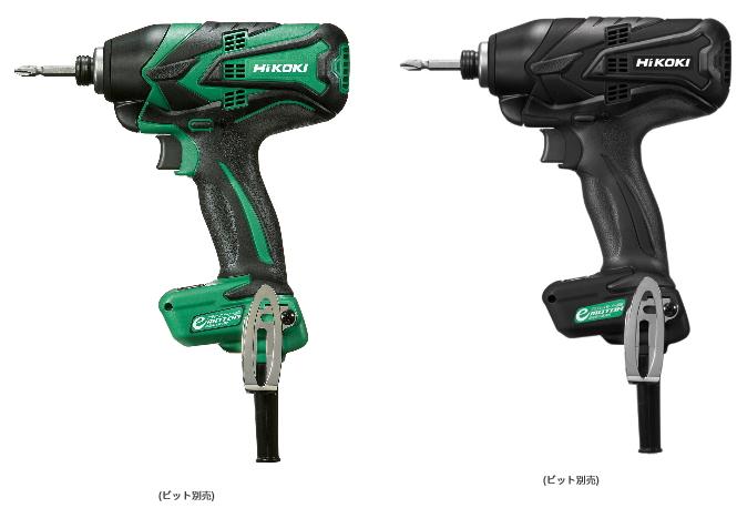 HiKOKI/ハイコーキ(日立電動工具) 100V インパクトドライバー WH12VE(SC)・(SCB) 【10mコード・ケース付】