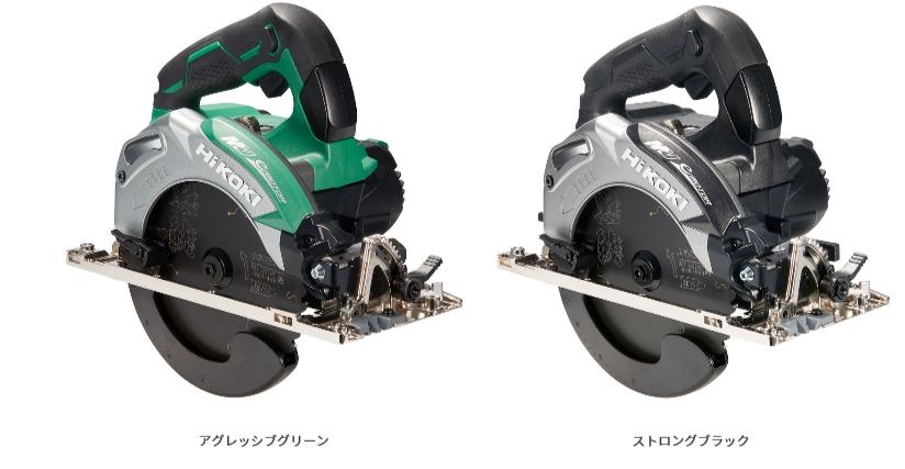 HiKOKI/ハイコーキ(日立電動工具) 【36V/マルチボルト】 コードレス丸のこ 165mm C3606DA(2XP(K))