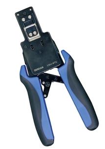 DENSAN(デンサン/ジェフコム) モジュラー圧着工具(貫通タイプ) LMJ-8TC