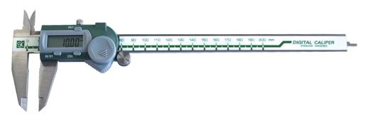 新潟精機/SK デジタルノギス [スタンダードタイプ/測定範囲:0-200mm] GDCS-200