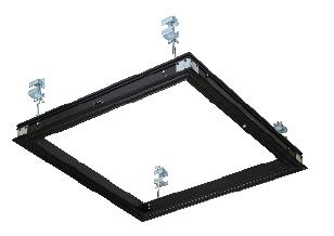 シーリングハッチ Seasonal Wrap入荷 デラックスタイプ ダイケン 天井点検口 CDZ型 1台入 450角 ブラック CDZZ45 人気の製品