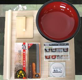 【蕎麦打ち道具】普及型麺打ちセット A-1200(そば打ちDVD付)