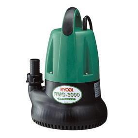 リョービ ポンプ(プロ用ツール) 水中汚水ポンプ 吐出量:毎分110L RMG-3000 50Hz/60Hz