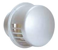 西邦工業 外壁用ステンレス製換気口〈レインキャップ〉キャップ型 防風雨板無し 防火ダンパー付(前フューズ/72℃) RCD175SC A寸法172 標準品(網なし)