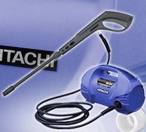 日立電動工具 高圧洗浄機 小型軽量 7.5MPa 可変ノズル付 FAW85SA