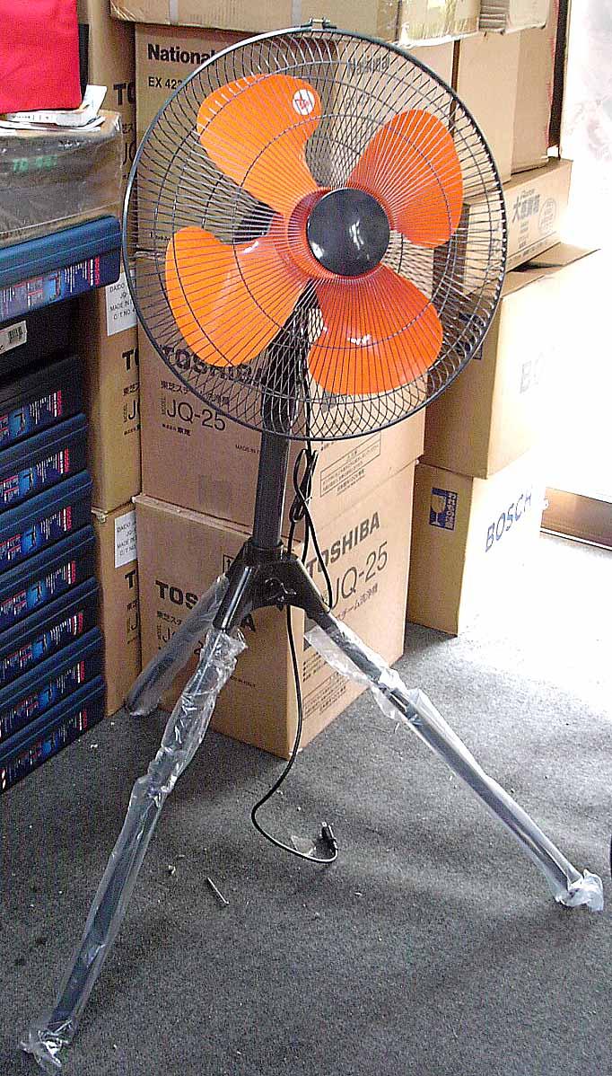 スタンド型 工場用扇風機 【50cm】工場扇 YL-257iF【※現在シルバー羽根となります】【※2台ごとに送料700円かかります】