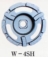 大宝ダイヤモンド  ダイヤモンド  消音ソフトカップ ショックレス 振動を大幅カット!【W-4SH】 105mm