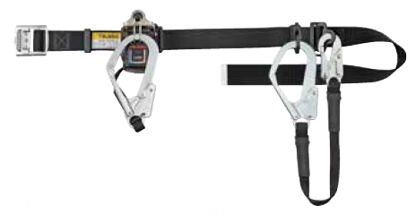 タジマツール 2丁掛け安全帯 スチールベルトセット TR150L4W-SB(スチールフック)