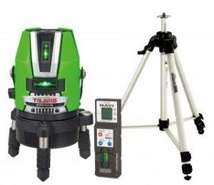 タジマツール レーザー墨出し器 NAVIゼロジーKJYセット ZEROGN-KJYSET(本体+NAVI受光器+三脚)