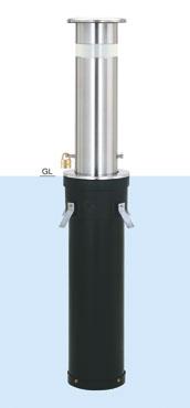 帝金 バリカー 上下式 KS-1N スタンダード取替用支柱