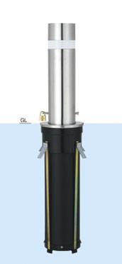 帝金 バリカー上下式 31N バリアフリー取替用支柱