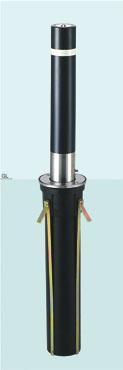 帝金 バリカー上下式 310-GS バリアフリー取替用支柱