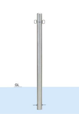 帝金 バリカー ピラー型 スタンダード S52-A(固定式)
