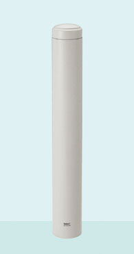帝金 バリカー ボラード TPF-03A オフホワイト 固定式