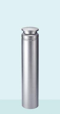 帝金 バリカー ボラード ACT-17A メタリックチタン 固定式
