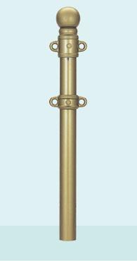 帝金 バリカー デザインキャスト 453-PKW 脱着式カギ付