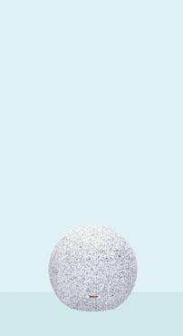 帝金 バリカー 天然白御影石製ボラード STN-03A 固定式