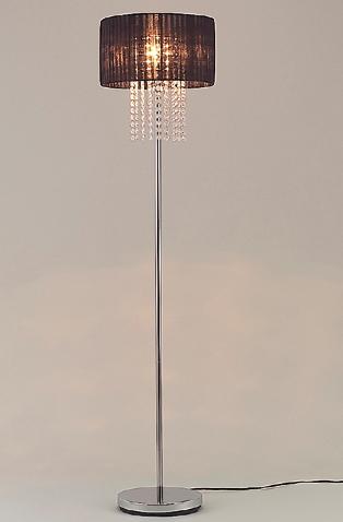 TOKYO METAL 東京メタル工業 ライト フロアースタンド JF-FL0821BKZ 〈クリアランプ付〉