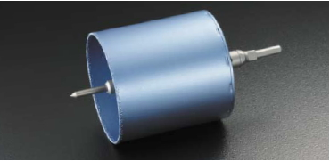 ユニカ 塩ビ管用コアドリル VPCタイプ ストレートシャンク BZ-VPC120ST【口径:120mm】