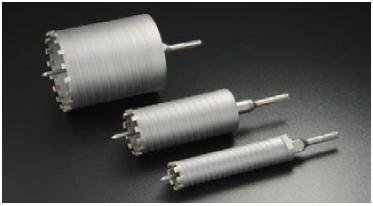 ユニカ コアドリル 乾式ダイヤ DCタイプ SDSシャンク ES-D32SDS【口径:32mm 有効長:150mm】