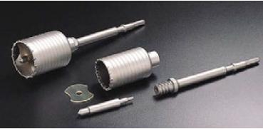 先端工具のunika 本物 ユニカ ハンマードリル用コアドリル HCタイプ 口径:80mm HC-80 業界No.1 セット