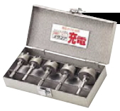 ユニカ ホールソー メタコア充電 ツールボックスセット TB-23【セット内容をよくご確認下さい】