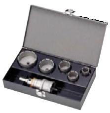 TB-42SD【セット内容をよくご確認下さい】 ツールボックスセット ユニカ ホールソー SDS トリプルコンボ