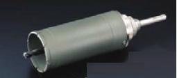 ユニカ UR21 複合材用コアドリル セット SDSシャンク UR-F95SD【口径:95mm 有効長:130mm】