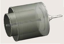 ユニカ UR21 複合材用 換気扇用セット SDSシャンク UR-KF1116SD【口径:110+160mm 有効長:130mm】